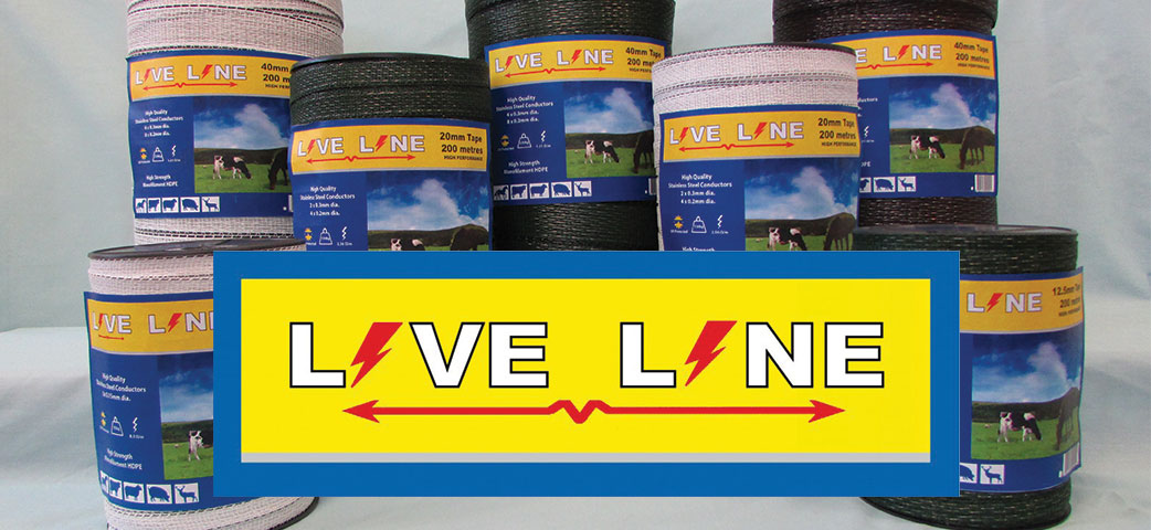 Electric Fencing Tape - Live Line