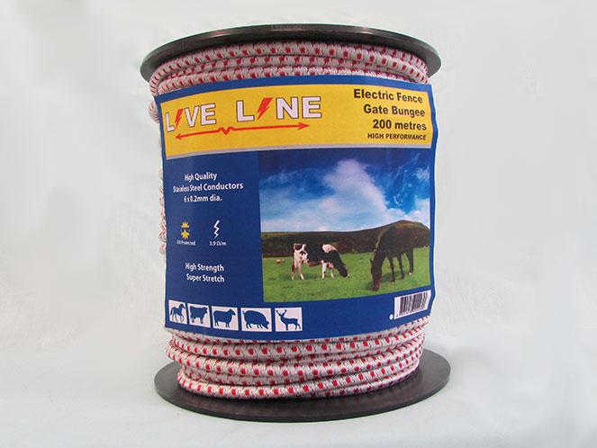 Electric Fence Bungee Cord Atlantic Weaveatlantic Weave